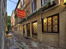Hotel Caprera, hotel in Venice