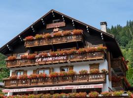 Hotel La Montagne, hotel in La Clusaz