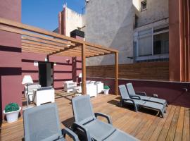 Home to Home Barcelona, hotell i Barcelona