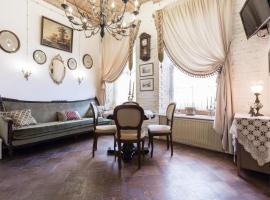 Apartments on Nevsky near Hermitage, hotel near Admiralty Building, Saint Petersburg