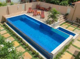 Villa das Palmeiras, hotel with pools in Jericoacoara