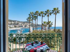 Apart Overlooking The Port Of Nice, holiday home in Nice