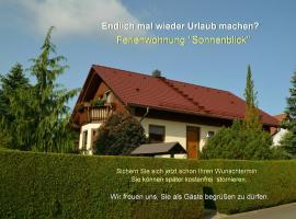 Ferienwohnung Sonnenblick, Hotel in der Nähe von: Barockschloss Rammenau, Bischofswerda
