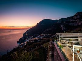 VILLA LA TAGLIATA amazing view breakfast and free parking garage, villa in Positano