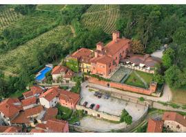 Castello Rosso, hotel near Cuneo International Airport - CUF, Costigliole Saluzzo