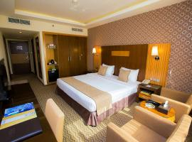 Fortune Plaza Hotel, Dubai Airport, hotel dicht bij: Internationale luchthaven Dubai - DXB, Dubai