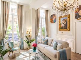 Luxury 3 Bedroom 2 Bathroom Palace Apartment - AC - Louvre, self-catering accommodation in Paris