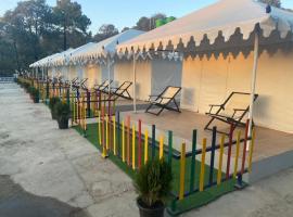 Camp Ullasa Lansdowne, luxury tent in Lansdowne