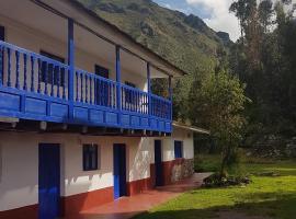 Minimalista Hostel & Camping, B&B in Urubamba