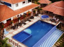 Hotel Campestre Palmas del Zamorano, hotel in San Gil