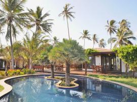 CASA DELLA, Bangalô Coqueiro, 40 m2, Vista Mar, hotel with pools in Luis Correia