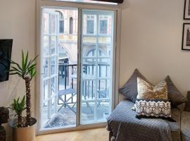 Boutique apartment with balconies - in the very heart of Leeds, hotel near Victoria Quarter, Leeds