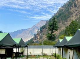 North Deodar Camps, luxury tent in Kasol