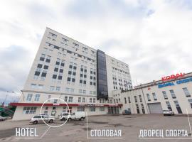 Гостиница Koral, hotel in Petrozavodsk