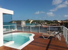 Flat em Ponta- bem localizado, vista para o mar, hotel with jacuzzis in Natal