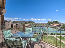 Top-Floor Condo with Pool, 8 Mi to Snow Canyon!, vacation rental in St. George
