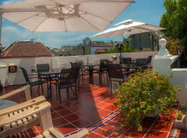 Casa Baluarte Hotel, hotel in Cartagena de Indias