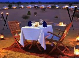 The golden rose desert safari camp Jaisalmer, hotel in Jaisalmer
