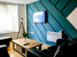 SideMersey Livings - 2Bed2Bath Apartment in city Centre, budget hotel in Liverpool