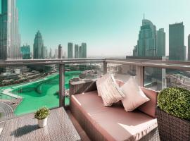 Elite Royal Apartment - Full Burj Khalifa & Fountain View - Emerald, apartma v Dubaju
