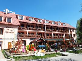 Penzion Zora Family, hotel near Lomnicky peak, Vysoké Tatry - Tatranská Lomnica