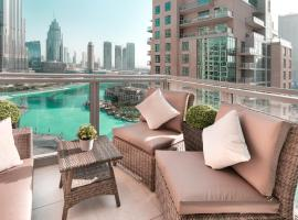 Elite Royal Apartment - Full Burj Khalifa & Fountain View - Ruby, apartma v Dubaju