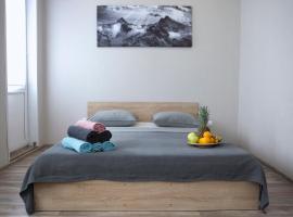 SunRise Новая уютная студия под облачками на 15 этаже:), apartment in Berdsk
