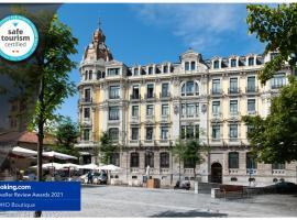 Soho Boutique Oviedo, hotel en Oviedo