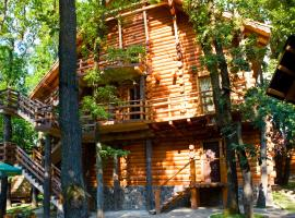 Praha Wood House, hotel in Uzhhorod