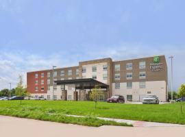 Holiday Inn Express & Suites Omaha Airport, an IHG Hotel, hotel near Eppley Airfield - OMA,