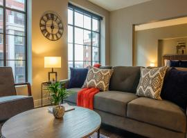 Upscale 1BR Apts in Downtown by Frontdesk, apartment in Columbus