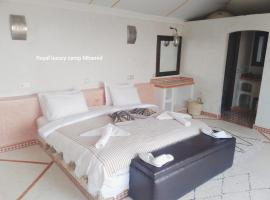 Royal luxury camp Mhamid, luxury tent in Mhamid