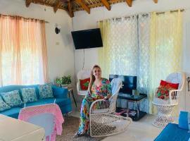 Villa de Dios el guanito ecolodge, hotel with parking in Higuey