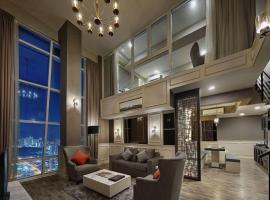 Penang Seaview Maritime Luxury Suite 槟城海景公寓, apartment in Jelutong