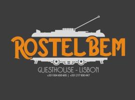 Rostelbem Guesthouse Lisbon, hostel in Lisbon