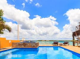 Chalé Oásis, hotel with pools in Galinhos