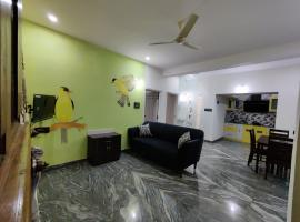 Vogel's Nest, accessible hotel in Mysore