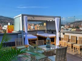 Ayenda Seven Inn, hotel cerca de Avenida 70, Medellín