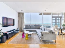 Spectacular 2 BR Condo with magnificent Ocean views and maid's room, BLUEWATERS ISLAND, cheap hotel in Dubai
