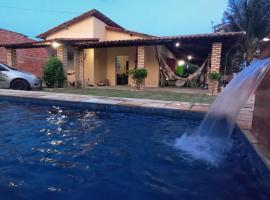 Vivenda Malu, hotel with pools in Luis Correia