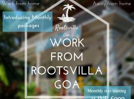 Rootsvilla 2, pet-friendly hotel in Vagator
