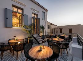 Malmo Historic Hotel, accommodation in Chania Town