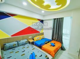 Superb Justice League Theme 舒沛正义联盟主题 Sutera Avenue 2 Bedroom, apartment in Kota Kinabalu