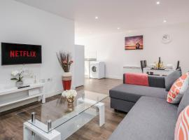 2 Bedroom Apartment at Modernview Serviced Accommodation Watford Central, apartment in Watford