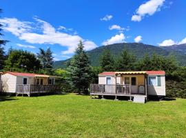 Camping Due Laghi, hotel with pools in Levico Terme