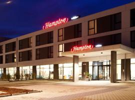 Hampton by Hilton Munich Airport South, hotel in zona Aeroporto di Monaco di Baviera - MUC,
