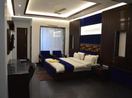 JJK Rukmini Vilas Hotel & Banquet, hotel in Muzaffarpur