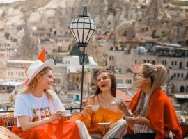 Cappadocia Caves Hotel, viešbutis mieste Geremė