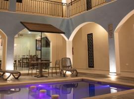 Hotel Las Monjas, отель в городе Мерида