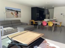 Dolce Vita - zonnig familie appartement met garagebox, pet-friendly hotel in Nieuwpoort